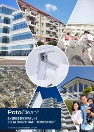 Download Broschüre PotoClean ... - Neue Trinkwasserverordnung