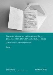 Achtung: Wichtige Hinweise - Praxis Jürgen Hancke