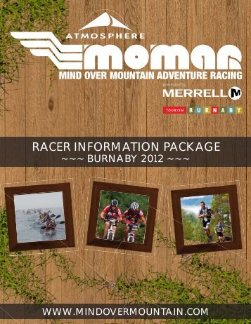 burnaby racer information package - Mind Over Mountain