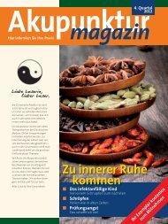 Akupunktur Magazin Oktober 2012