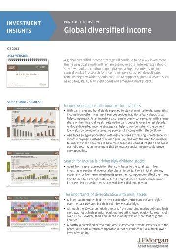 Global Diversified Income - JP Morgan Asset Management