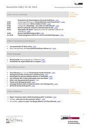 Newsletter 038// 19. 04. 2012