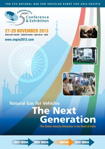 Angva 2013 Brochure & Booking Form - Allworld Exhibitions