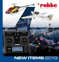 NEW ITEMS 2013 - Robbe