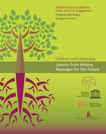 Launch brochure - UNESCO Child and Family Research Centre