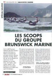 LES SCOOPS DU GROUPE BRUNSWICK MARINE