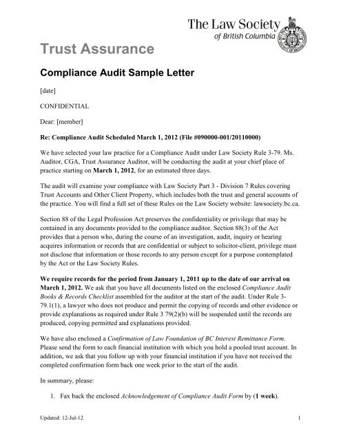 Legal Confirmation Letter Audit Sample from img.yumpu.com
