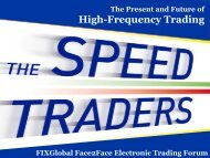 The Present And Future Of High-Frequency Trading - Plus Concepts