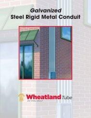 Galvanized Steel Rigid Metal Conduit - Wheatland Tube