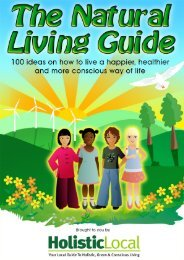 Holistic Local's – The Natural Living Guide - Trans4mind