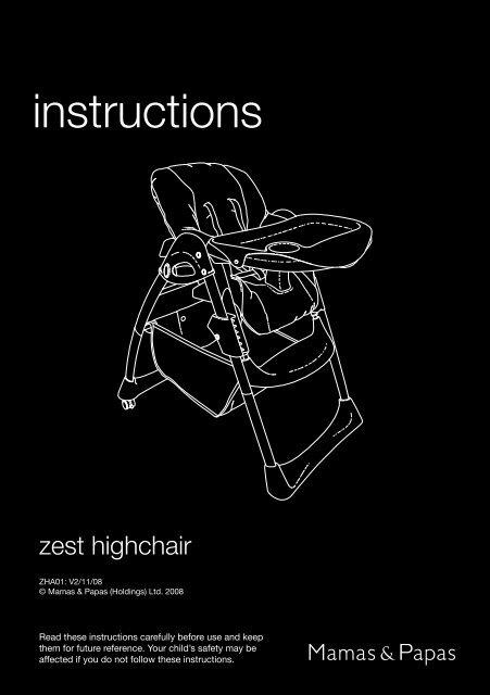 Aria twin pushchair instructions mamas & papas.