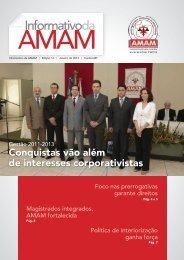 Edição do Mês de Janeiro/2013 - AMAM