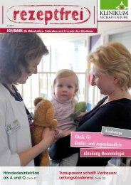 rezeptfrei 2009-01 - Klinikum Aschaffenburg