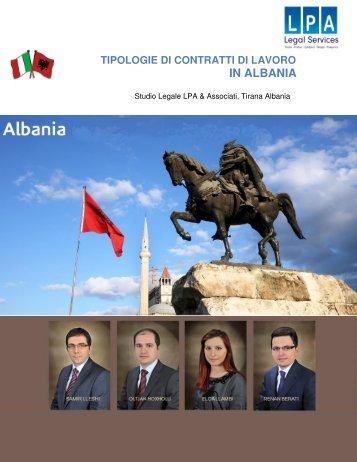 Il-Dirito-del-lavoro-in-Albania-2014-LPA