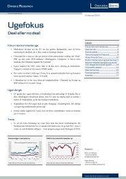 Ugefokus - Danske Analyse - Danske Bank