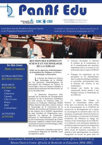 Septembre 2010, vol.2, n°2