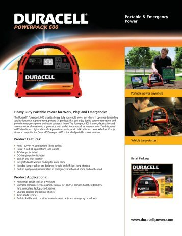 Portable & Emergency Power - Pedal Power Generator