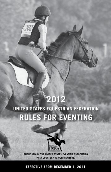 2012 - United States Eventing Association