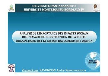 universite d'antananarivo universite universite montesquieu ...
