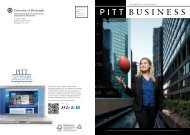 Download PDF - Pitt Business - University of Pittsburgh