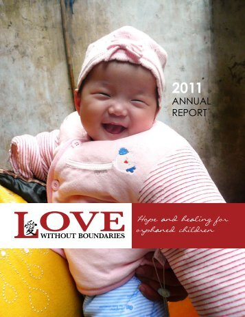 AnnuAl report - Love Without Boundaries