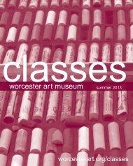 adult classes - Worcester Art Museum
