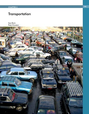 Transportation - Arab Forum for Environment and Development