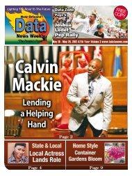 Lending a Helping Hand - Calvin Mackie