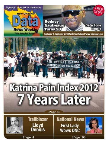 Katrina Pain Index 2012 7 Years After