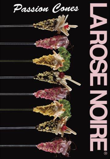 La Rose Noire - Passion Cones