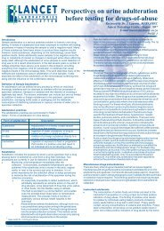 Perspectives on urine adulteration before testing for drugs of abuse