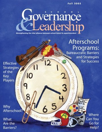 Afterschool Programs: - American Association of School Administrators