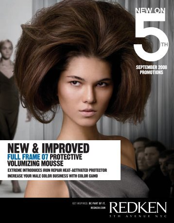 neW & improved - Redken Professional Site