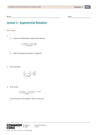 ALGEBRA 1 UNIT 9 Exponent and Exponential Function Test