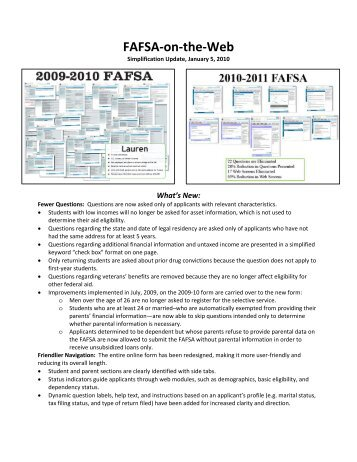FAFSA-on-the-Web