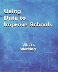 Using Data to Improve Schools - American Association of School ...