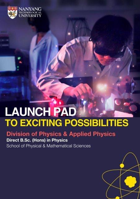 Physics - Spms - Nanyang Technological University