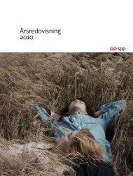 Årsredovisning 2010 - SPP