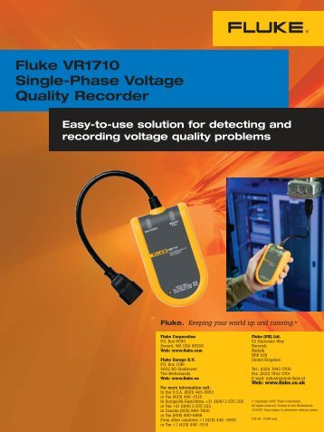 Download Brochure - Power and Energy Monitors