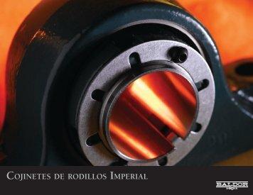 COJINETES DE RODILLOS IMPERIAL - Baldor