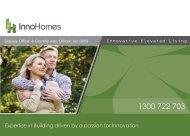 Innohomes Brochure -  Jan 2015
