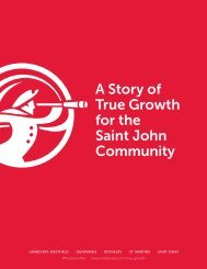 A Story of True Growth for the Saint John Community
