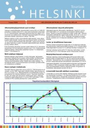 Helsingin matkailun kehitys vuonna 2004, pdf-tiedosto, koko 136 kt