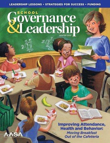 Improving Attendance, Health and Behavior: - American Association ...