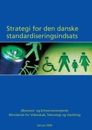 Strategi for den danske standardiseringsindsats - Erhvervsstyrelsen
