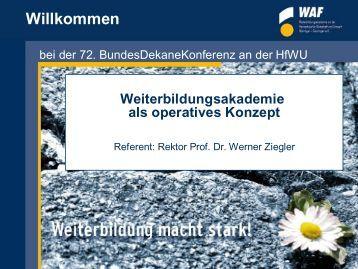 Prof. Dr. Werner Ziegler (PDF)