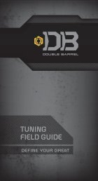 Double Barrel & DBair Tuning Field Guide - Cane Creek
