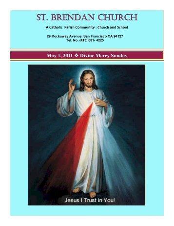 May 1, 2011 - St. Brendan Parish