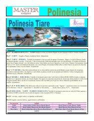 Polinesia Tiare - Tahiti tourisme