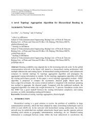 A novel Topology Aggregation Algorithm for Hierarchical Routing in ...